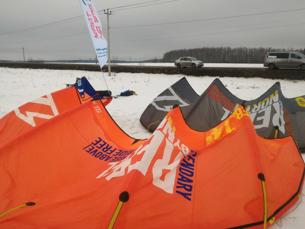 Кайт North Rabel 2013 год 14м2